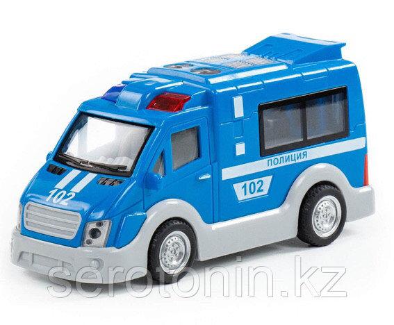 """""""Полиция"""", автомобиль инерционный (со светом и звуком) (в коробке)"""