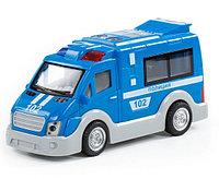"""""""Полиция"""", автомобиль инерционный (со светом и звуком) (в коробке), фото 1"""