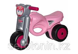 Каталка-мотоцикл Полесье Мини-мото (розовая)