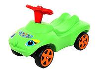 Каталка MOLTO Мой любимый автомобиль со звуковым сигналом зеленый (44617_PLS)