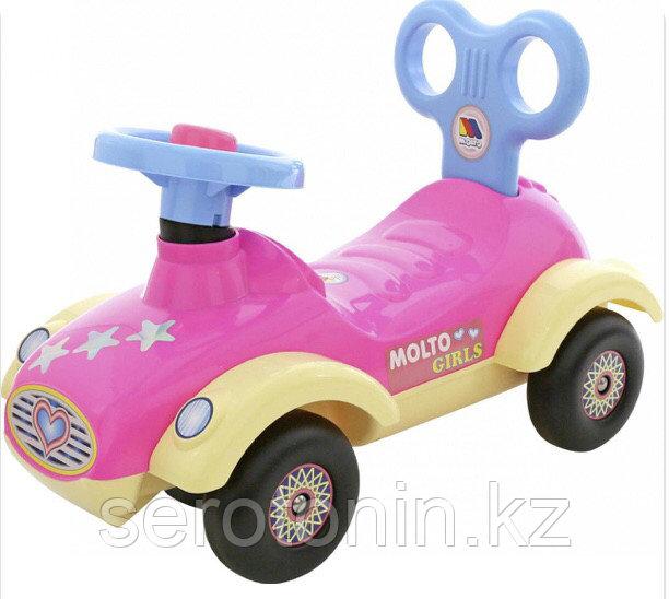 """Каталка-автомобиль для девочек """"Сабрина"""" №3"""