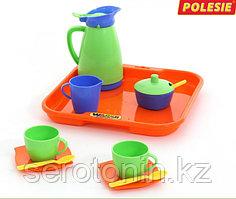 """Набор детской посуды """"Алиса"""" с подносом на 2 персоны"""