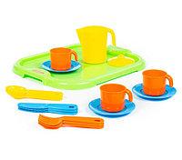 """Набор детской посуды """"Анюта"""" с подносом на 3 персоны, фото 1"""