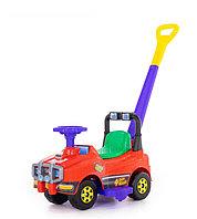 Автомобиль Джип-каталка с ручкой (красный), фото 1