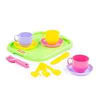 """Набор детской посуды """"Минутка"""" с подносом на 3 персоны, фото 1"""