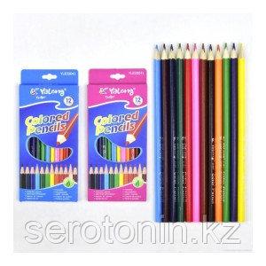 Карандаши цветные 12цв. Yalong