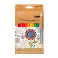 Карандаши цветные Yalong  24цв.