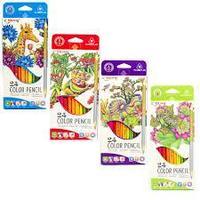 Карандаши цветные Yalong 24 цв