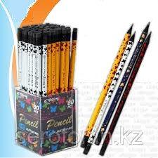 Простой карандаш с резинкой