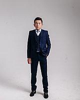 """Комплект """"тройка"""" на мальчика (пиджак, жилет, брюки) 26-36"""