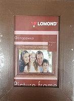 Фоторамка деревянная LOMOND 1401025 (Коричневая-16, A6, 10*15см)