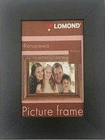 Фоторамка деревянная LOMOND 1401023 (Черная-06, A5, 15*21см)