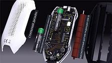 СОЭКС Эковизор F4 - (4 в 1) дозиметр, нитрат тестер, оценка качества воды, индикатор электромагнитных полей., фото 2