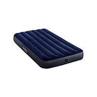 Матрас надувной Dura-Beam Classic Downy Airbed (Twin) 191 х 99 х 25 см, Технология Fiber-Tech, Синий