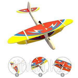 Метательный планер, самолет с мотором и аккумулятором