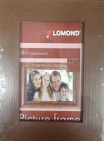 Фоторамка LOMOND деревянная A6 10*15см (Коричневая-16) 1401025