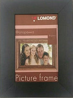 Фоторамка LOMOND деревянная A6 10*15см (Черная-06) 1409003