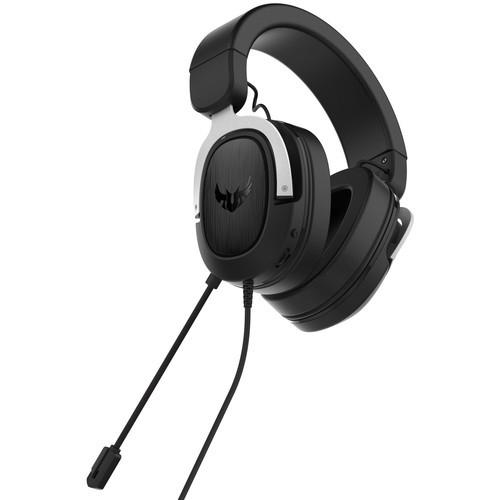 Asus TUF Gaming H3 Silver гарнитура (90YH025S-B1UA00) - фото 3