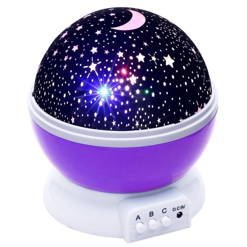 Уценка! Ночник-проектор Star Master с функцией вращения