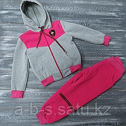 Спортивный костюм серо-розовый Gucci