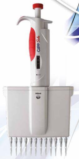Дозатор 12-канальный Capp (5-50 мкл)