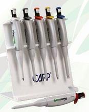 Дозатор одноканальный Capp Aero Microbiology (100, 900, 1000 мкл) микробиологический, 3 фиксированных объема