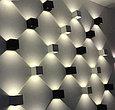 Настенный светильник CUBE 6W, светодиодный, регулируемый угол света, фото 4