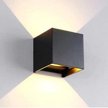 Настенный светильник CUBE 6W, светодиодный, регулируемый угол света