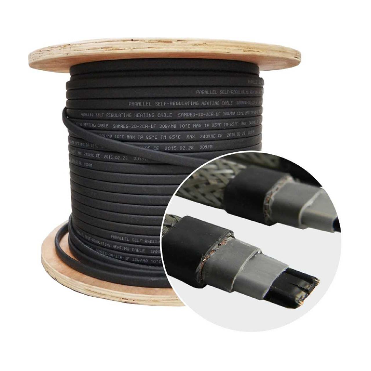 Саморегулирующийся нагревательный кабель SRL 30-2CR-UF