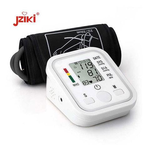 Тонометр осциллометрический цифровой автоматический JZIKI для измерения артериального давления и пульса (на - фото 3