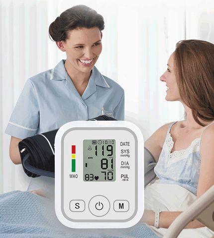 Тонометр осциллометрический цифровой автоматический JZIKI для измерения артериального давления и пульса (на - фото 2