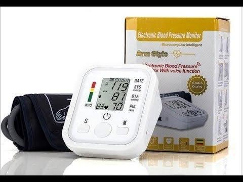Тонометр осциллометрический цифровой автоматический JZIKI для измерения артериального давления и пульса (на - фото 4