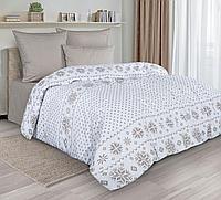 Комплект постельного белья Chalet, орнамент, белый