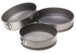 Уценка (товар с небольшим дефектом) Набор разъемных форм для выпечки 3 шт.