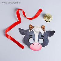 """Карнавальный набор """"Бычок Степа"""" маска, колокольчик"""