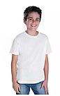"Футболки для сублимации Прима-Софт микрофибра ""Fashion kid"", цвет белый"