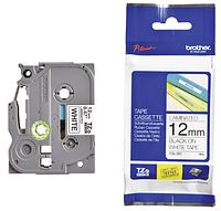 Лента TZe-231, черным на белом , для принтеров Brother PT-1010,  PT-1280VP, PT-D200VP, PT-E100VP и пр.