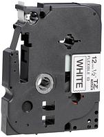 Лента TZe-FX231, черным на белом (повышенной гибкости), для принтеров Brother PT-1010, PT-1280VP и пр.