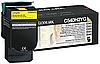 Картридж C540H1YG для C540/544/X543 Желтый 2к