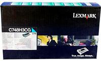 Картридж C748H3CG для С748/X748 Синий 10к