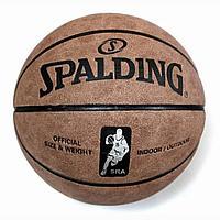Мяч баскетбольный Spalding №7 Кожа ОПТОМ