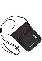Сумка на шею с RFID,Travelite  черная