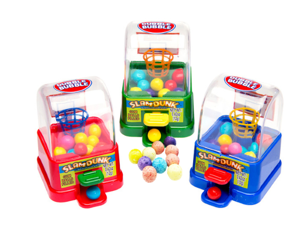 Жевательная резинка в диспенсере Kidsmania Slam Dunk  Dubble Bubble 12гр
