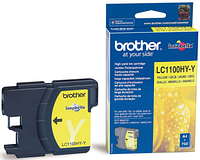 Картридж LC1100HY-Y для Brother DCP 6690CW Желтый