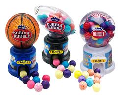 Жевательная резинка в диспенсере KIDSMANIA HOT SPORTS GUMBALL Dubble Bubble 40гр