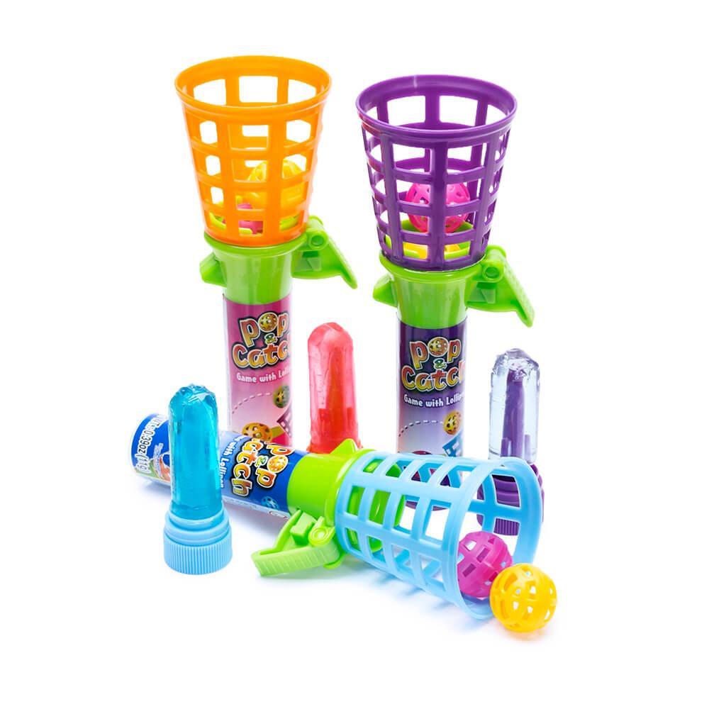 Баскетбольная корзина с Леденцом Pop & Catch Game with Lollipop 11гр