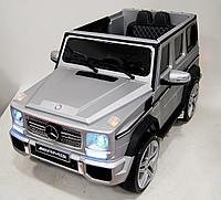 Детский электромобиль Mercedes-Benz G65 AMG silver, фото 1