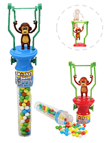 Разноцветные Конфеты  Monkey Swing Filled With Candy (обезьянки )13гр