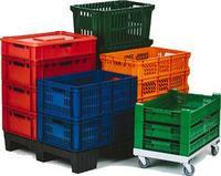 Пластиковые ящики  для продукт...