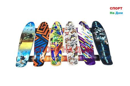Скейтборд - Пенни борд детский (пластборд) 22 дюйма, фото 2
